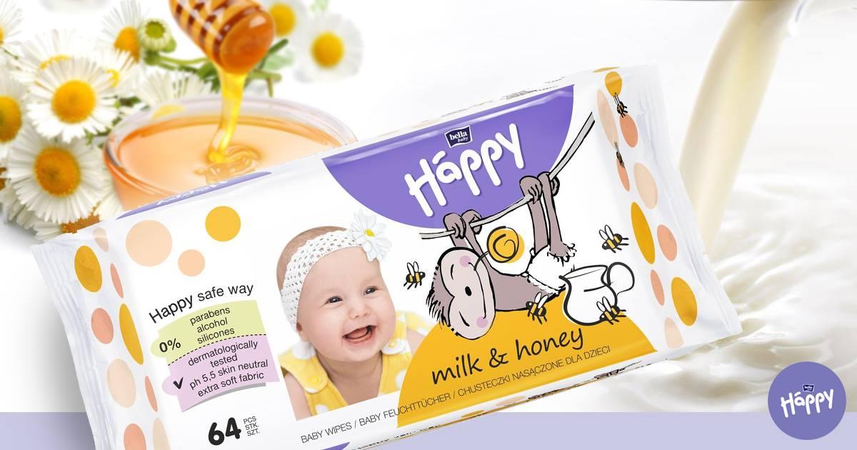 Bella Baby Happy babatörlőkendő