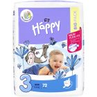 Bella Baby Happy Midi, 72 db BIG PACK