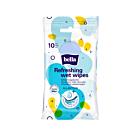 Bella nedves frissítőkendő antibakteriális formulával, 10 db